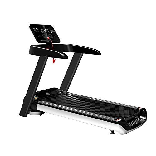 Tapis de course Passage intérieur Passing Machine à pied Machine de marche motorisée avec une inclinaison numérique pour la salle de gym domestique - Programmes de perte de poids en gras (Couleur: Noi