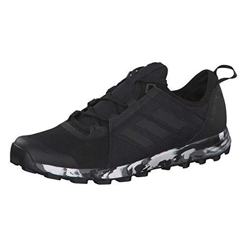 Adidas Terrex Agravic Speed, Zapatillas de Deporte Hombre, Negro (Negbás/Negbás/Negbás 000), 46 EU