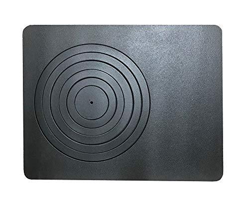 Lincar Splendid Sideros Grillplatte aus emailliertem Gusseisen für Kaminofen komplett mit Kreisen - 582 x 447 mm - K6722/SM