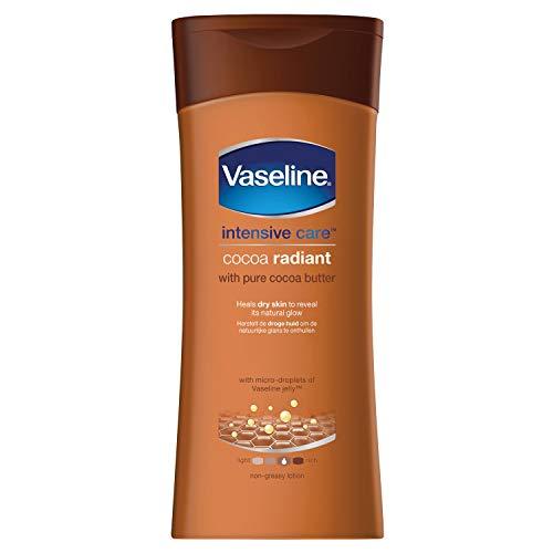 Vaseline Loción Corporal Cocoa Crema, 200 Mililitro