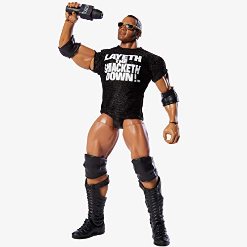 WWE Smakdown Live Elite Collection The Rock Exclusive Collector's Edition Action Figure -  GNX33