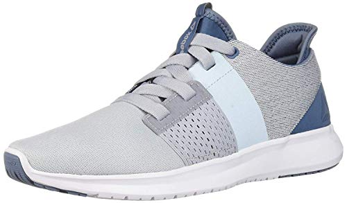 Reebok Women's Trilux Running Shoe, Blue Slate/Cloud Grey/dre, 7.5 M US
