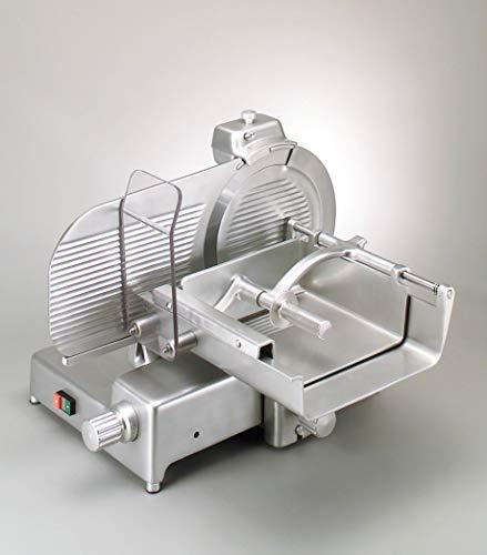MISTRO VM 350 Carne CE Affettatrice verticale - omologazione CE uso professionale - lama 35 cm - Alluminio anodizzato lucido - Made in Italy