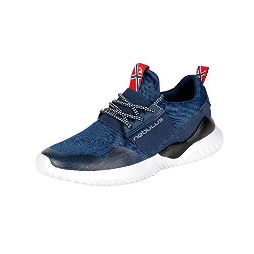 Nebulus Sneaker Comfy Herren, Navy - 45