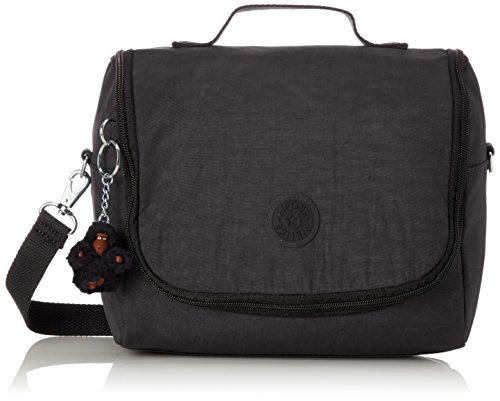 Kipling New Kichirou Lunch Bag, 45 cm, Black (True Black)