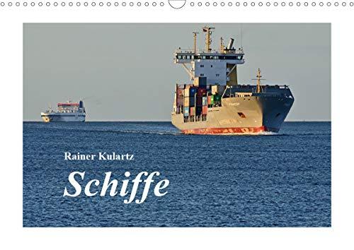Schiffe (Wandkalender 2021 DIN A3 quer)