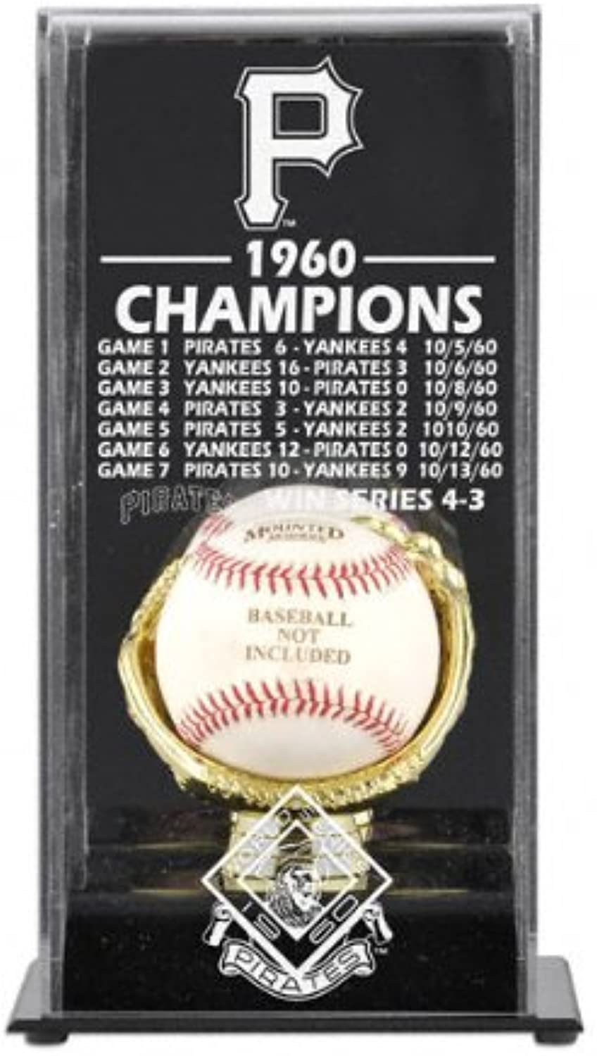 Mounted Memories Pittsburgh Pirates 1960 World Series Champs Display Case