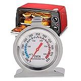 Hihey Digitaler Rostfreier Edelstahl Grill-Thermometer Bratenthermometer Fleischthermometer Ofenthermometer