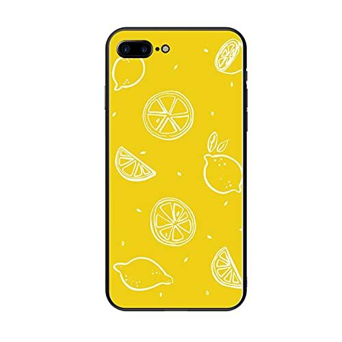 Generic Bella Gusci di Plastica Rigida Rigida Design Lemon Guy Compatibile per iPhone 7/8