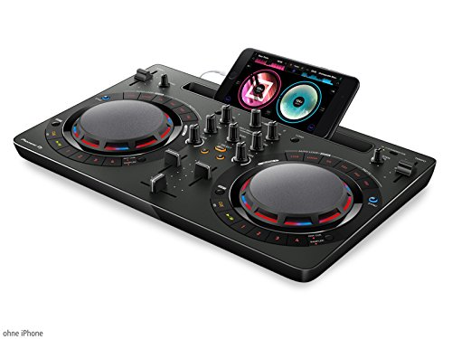 Pioneer DJ DDJ-WeGO4-K DJ Controller, Black