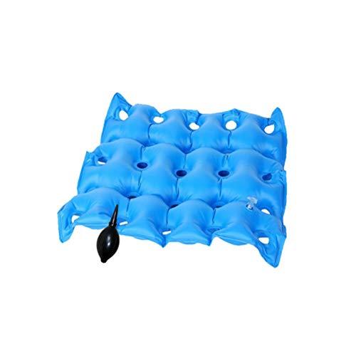 Lucht opblaasbaar zitkussen maakt elke stoel comfortabel, gebruikt voor kantoorrolstoelen Reisauto's Vliegtuigen Stuitbeen Stuitbeen Ischias Ideaal voor langdurige zitverlichting