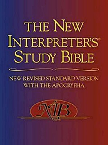Compare Textbook Prices for The New Interpreter's Study Bible: New Revised Standard Version With the Apocrypha 1 Edition ISBN 9780687278329 by Harrelson, Walter