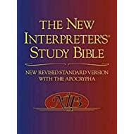The New Interpreter's Study Bible: New Revised Standard Version With the Apocrypha