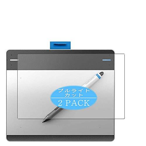 VacFun 2 Piezas Filtro Luz Azul Protector de Pantalla, compatible con Wacom Intuos pen small CTL-480 / S1, Screen Protector Película Protectora(Not Cristal Templado) NEW Version