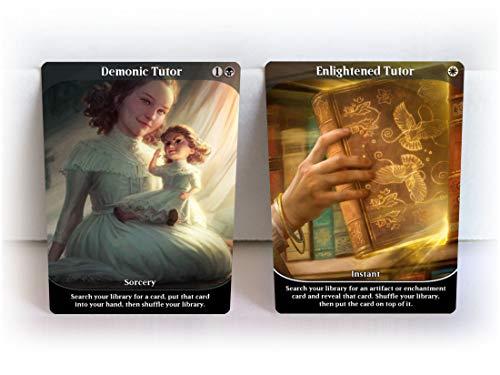 Tutor Set for Magic MTG Games ~ Demonic Enlightened Grim Mystical Sylvan Vampiric Wordly Tutor Imperial Seal Intuition