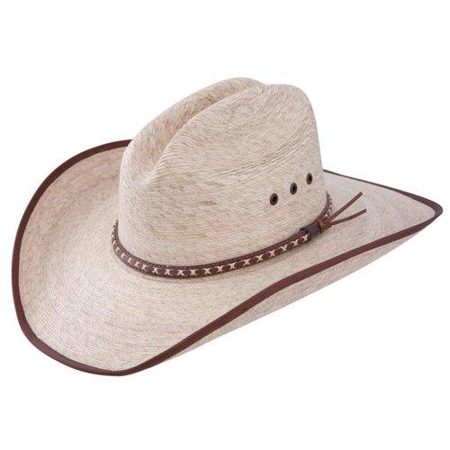 Resistol Jason Aldean Hicktown - Mexican Palm Straw Cowboy Hat (Large)