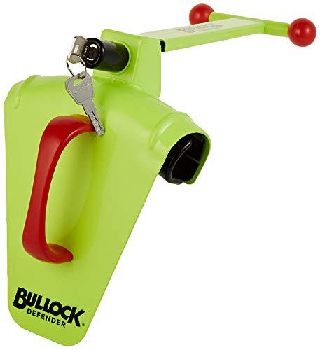 Bullock 146714 Defender-Bloqueo DE Volante ANTIRROBO || Dispositivo Especial para la Seguridad y Evitar el Robo de tu Coche. Garantía de 3 años, amarillo