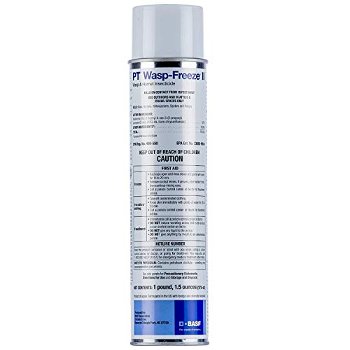 Pt Wasp Freeze II Aerosol Spray 17.5 Oz. Can