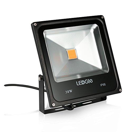 LEDGLE Lámparas de Inundación de LED Brillante 30W