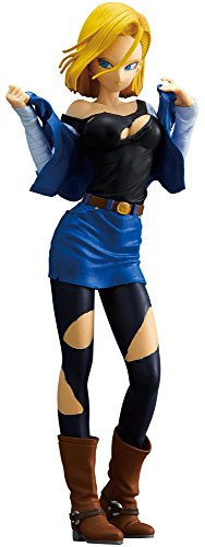 Banpresto Dragon Ball Z Glitter & Glamours Android 18 A Action Figure image