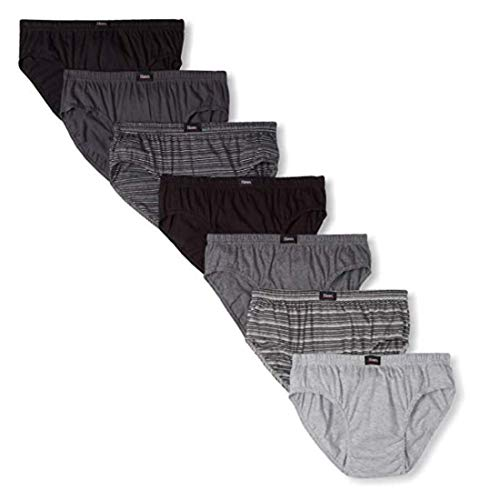 Hanes Ultimate Men's 7-Pack Comfort Soft Sport Brief-Assorted Colors, X-Large