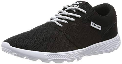 Supra Unisex-Erwachsene Hammer Run Sneaker, Schwarz (Black Emboss-White 007), 45 EU