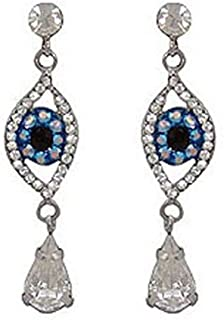 a03cb8e55 Butler and Wilson Big Brother Crystal Eye Drop Earrings