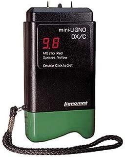 Lignomat D-1-LIG, Mini-Ligno DX/C Moisture Meter with Pins & Connector, 1 pc
