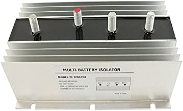 DB Electrical BSL0001 120 Amp Three Battery Multi Isolator for Marine RV EMS