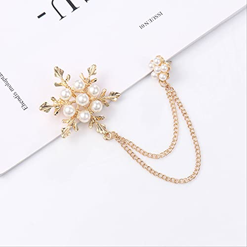 YYUKCDOG Creative Butterfly Brocade Chain Alloy Delicate Fashion Snowflake Dressers Accessories Bitter