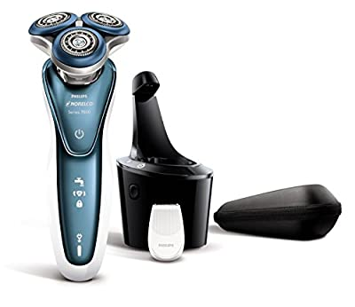 Norelco WASHABLE Mens CORDLESS Shaver with All NEW Aquatec Dynamic-Flex Technology BONUS FREE Jet Cleaning Solution Included