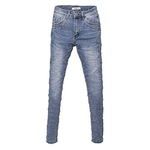 Jewelly Damen Jeans Five-Pocket-Jeans 2601 Boyfriend -Cut by Lexxury (L/40)