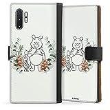 Étui Compatible avec Samsung Galaxy Note 10 Plus 5G Étui Folio Étui magnétique Disney Winnie...