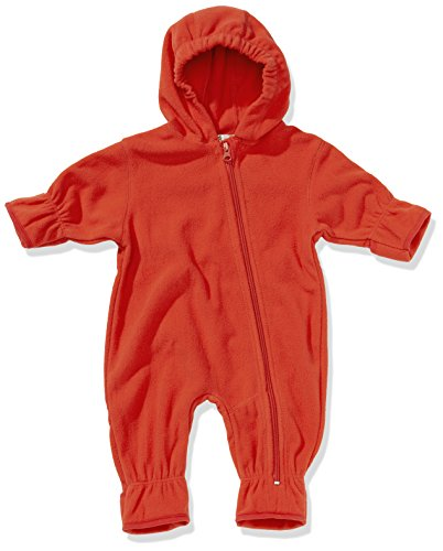 Playshoes Baby-Unisex Fleece Overall, Rot (8 rot), 62