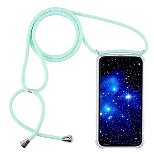 1stfee Compatible con Funda para iPhone 5S / 5 / iPhone SE Funda para teléfono móvil con cordón Transparente TPU Diseño de Protección Anti-Shock Cover