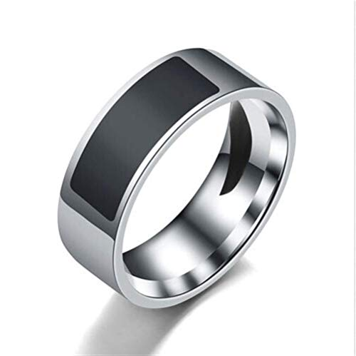 RENJUN Smart Ring, Impermeabile Intelligente Multifunzionale di Usura degli Anelli di barretta digitali for...