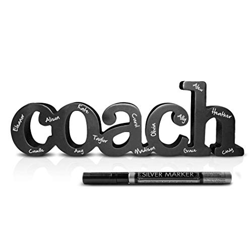 Coach Wood Word Signable w/ Silver Pen