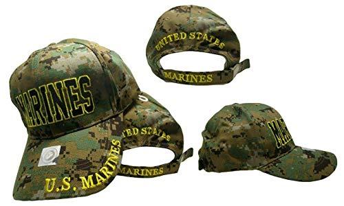 USA USMC MARINE CORPS MARINES CAP / HAT - MARPAT ACU CAMO Cap Hat by RFCO