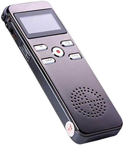 Grabador de Voz Micrófono Sensible al espía Grabación Completa de la grabadora de Voz de la Voz de la Voz de Doble Canal Sin Sonido y no Hay luz AB repetición para conferencias con conferencias