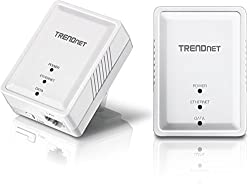 powerful The TRENDnet Powerline 500 AV nano Adapter Kit TPL-406E2K includes two TPL-406E adapters, a crossover …
