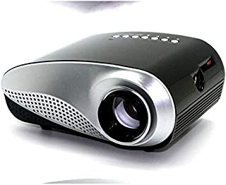Home Cinema TV Video Portable Home Projector Entertainment Games Parties Micro Projector for Home Cinema Gaming Office Fil...
