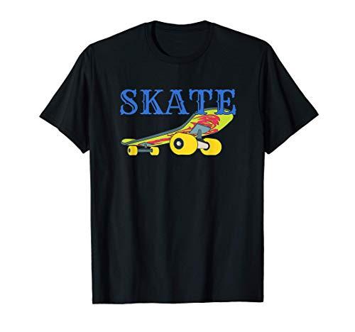 Skateboard Skate Skateboarding Rad Skater Retro Boys Girls T-Shirt