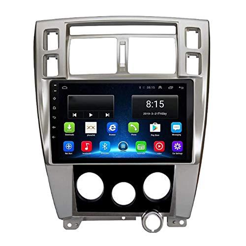 WY-CAR Android 8.1 Coche Estéreo Multimedia Player Bluetooth para Hyundai Tucson 2006-2013, Pantalla Táctil Capacitiva De 9 Pulgadas/Bluetooth/MirrorLink/SWC/Cámara De Vista Trasera