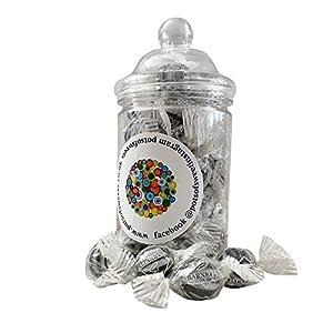 200g straight sided jar of minty bulls eyes 200g Straight Sided Jar of Minty Bulls Eyes 41Hzb0TspVL