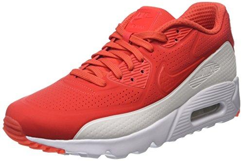Nike Air Max 90 Ultra Moire - Zapatillas de deporte Hombre, Rojo (Lt Crimson / Lt Crimson-White), 44.5 EU