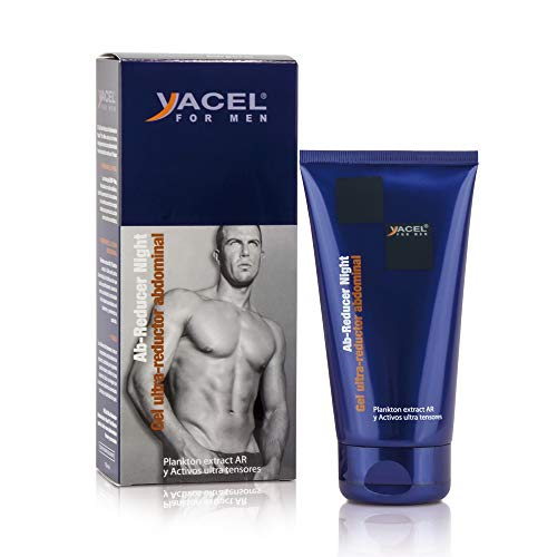 Yacel For Men AB-Reducer Night Gel Ultra Reductor Abdominal y Quemagrasas 150ml