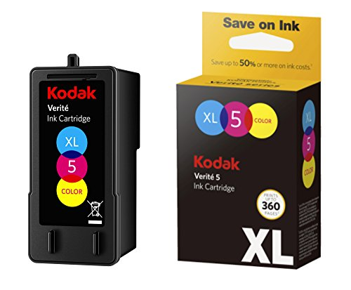 Kodak Verite 5 Replacement Inks (ALT1UA) XL Color Ink Jet Cartridge compatible to V50, V55, V55W Eco, V55 Plus, V60 Eco, V640 Eco, V64 Series, V65 Eco, V65 Plus (Package May Vary)