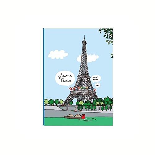 Petit cahier Tour Eiffel - Petit Jour Paris