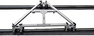 Proaim Swift DSLR Camera Dolly with Clip Track System (SWFT-DT-CLP) for Tripod, DSLR Video Film Cameras + Accessories + St...