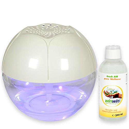 winwin clean Systemische Reinigung - AIR Blow I INKL. LUFTREINIGUNGS-Konzentrat Fresh AIR \'Wellness\' 500ML